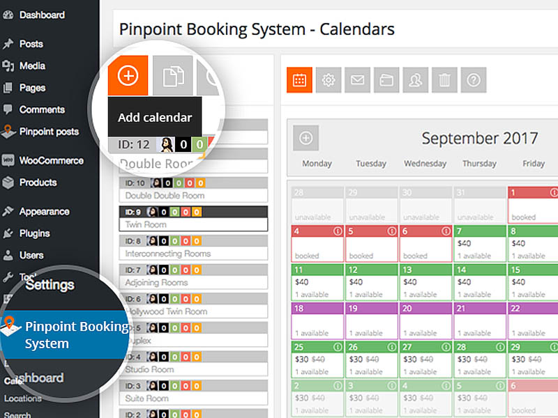 #2. Own booking tool